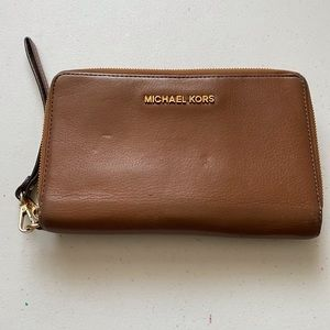 Micheal Kors Vintage 80s Leather Wallet